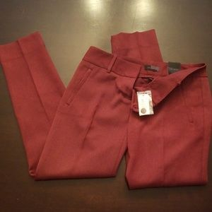 The Limited Pencil Pant Maroon/ Black
